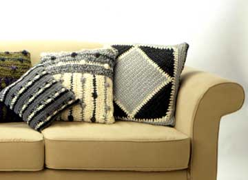 Sweater-Style Pillows