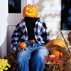 Pumpkin Head Greeter