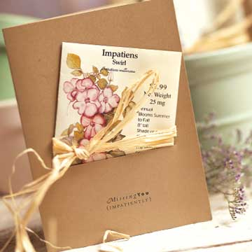 Seed-Packet Greeting Cards