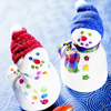 Cute Sock Snowmen Craft