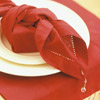 Tie a Gift with a Napkin
