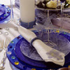 Beaded New Year's Table Setting
