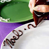 Decorated Dessert Plates