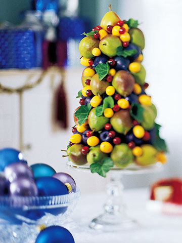 How To Make A Fruit Topiary Tree