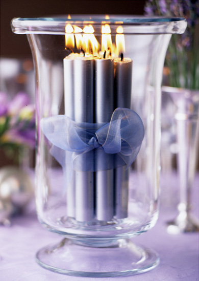 12 Romantic Candles
