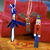 Stick Figure Ornaments