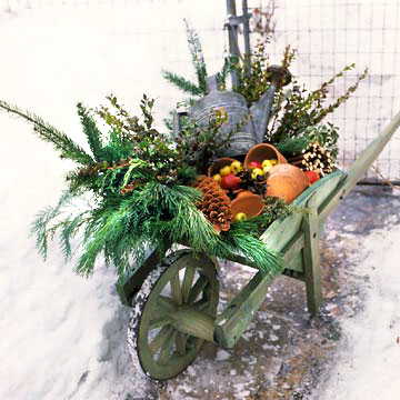 Wheelbarrow Arrangement