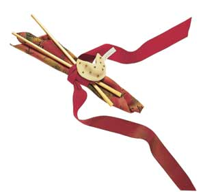 Fortune Cookie Napkin Rings