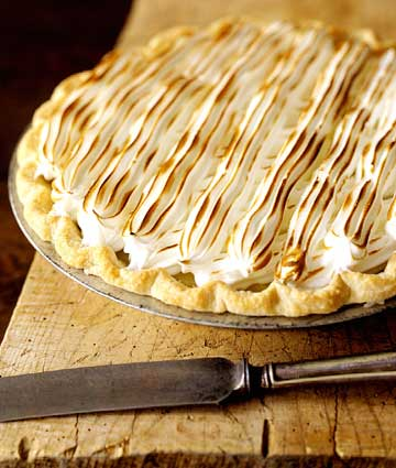 Storing and Serving Cream Pies