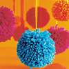 Puffy Pom-Pom Ornaments