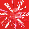 Peppermint Stick Starburst Ornament