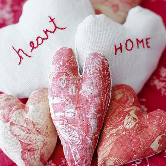 Embroidered Love-Theme Sachets