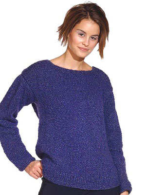 A Basic Sweater You Can Knit