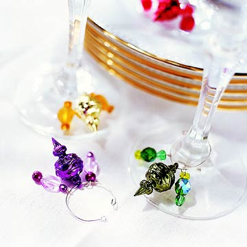 Simply Charming Wine Charms