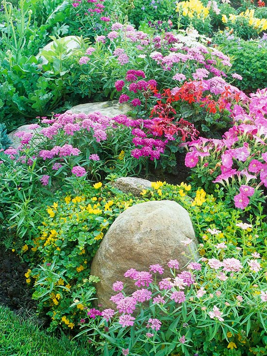 6 steps to a no work cottage garden Better homes and gardens flower bed designs