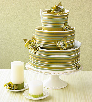 Wedding Color Trends: Green Is Everywhere, the Cakes, the Flowers, and the Favors -- Make It a Part of Your Wedding