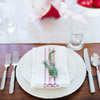 Evergreen Napkin Embellishment
