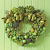 Get-Your-Greens Wreath