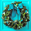 Include Unusual Foliage in a Christmas Wreath
