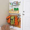 Family-Friendly Mini Mudroom