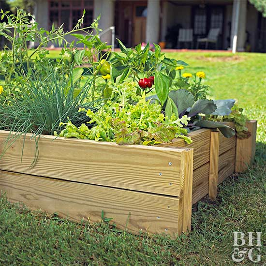 Raised bed gardening how to build a raised bed garden Better homes and gardens flower bed designs