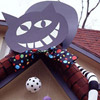 Halloween Cheshire Cat Decoration