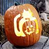 Carved Cat-o'-Lantern Stencil