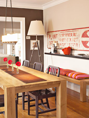 Small-Space Dining Room Ideas