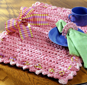 Clever Crocheted Placemats
