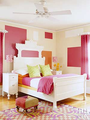 Bright and Bold Girl�s Room: Playful Decorating Ideas for a Kid�s Room