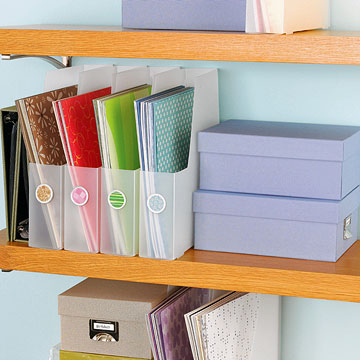 20 Creative Scrapbooking Storage Solutions