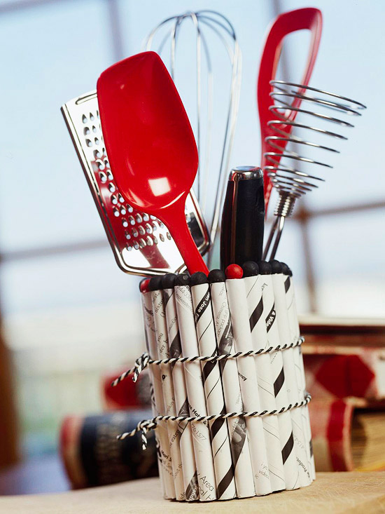 Creative Kitchen Utensil Holder