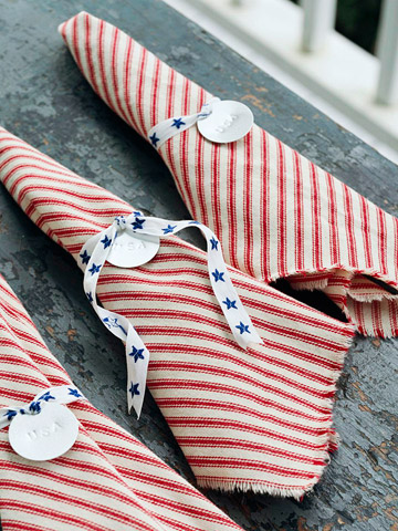 Patriotic Serving Ideas