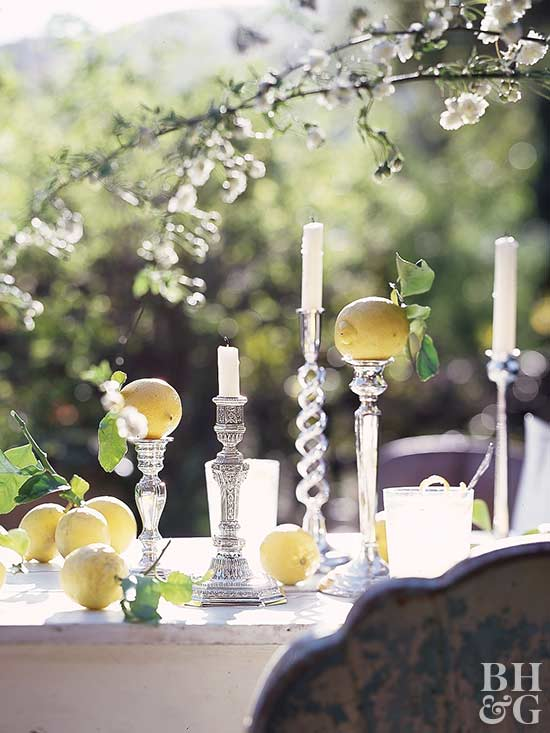 Summer Tablescape: Show Off Your Silver