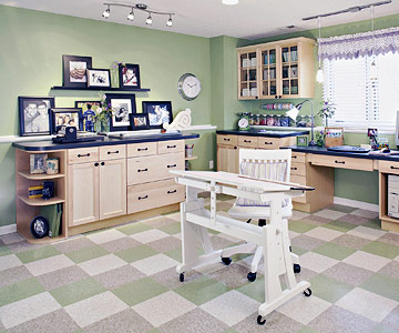 The Ultimate Scrapbooking Room