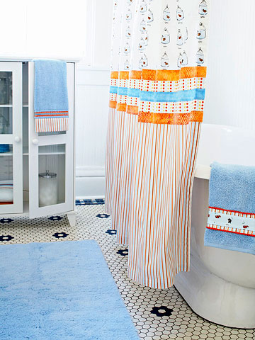 Easy Splish Splash Shower Curtain