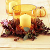 Two-Step Candle Centerpiece