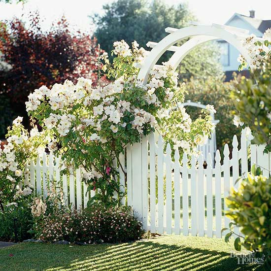 Fence Garden Ideas see more garden fence ideas home decor blog by qualitybathcom blog archive garden design 12 Stylish Garden Gates