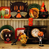 Vintage Halloween Pottery Display