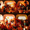 Handcrafted Vintage Halloween Decorations