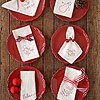 Handmade Holiday Napkins