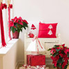 Red & White Christmas Pillows