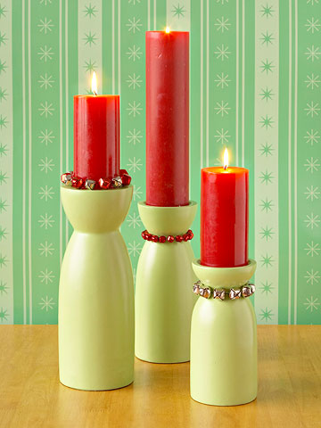 Jingle Bell Candle Holders