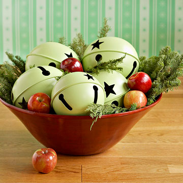 Jingle Bell Holiday Centerpiece