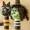 Wicked Witch Candy Containers