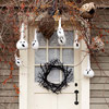 Ghostly Gathering Door Decoration