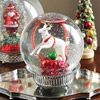 Pretty Christmas Snow Globe