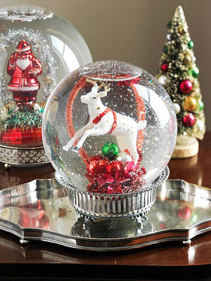 do it yourself snow globe. Black Bedroom Furniture Sets. Home Design Ideas