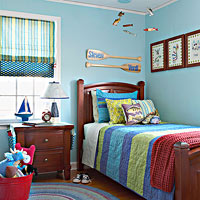 Before and After: Boy's Room