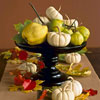 Pumpkin & Leaf Centerpiece